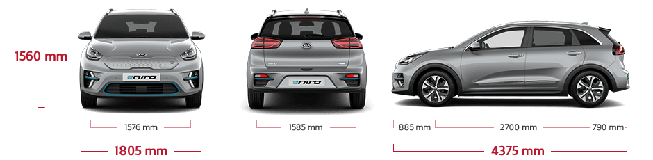 Kia e-Niro specifications